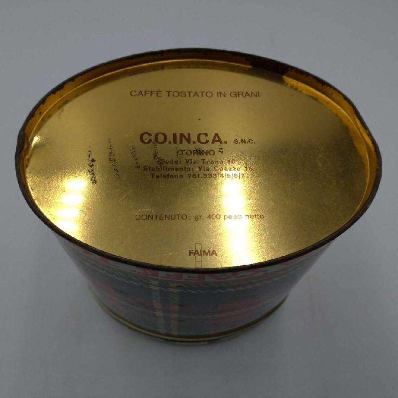 SCATOLA LATTA OVALE CAFFE TOSTATO IN GRANI | Mercatino dell'Usato Moncalieri bengasi 3