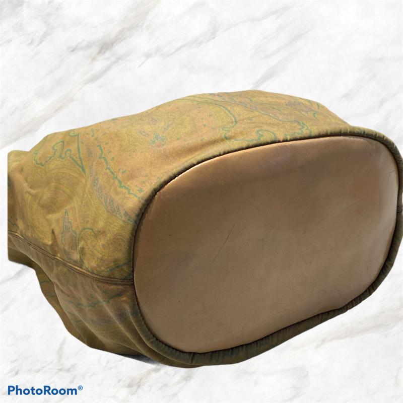 BORSA DONNA ETRO VINTAGE MEZZALUNA VERDE PAISLEY | Mercatino dell'Usato Moncalieri bengasi 3