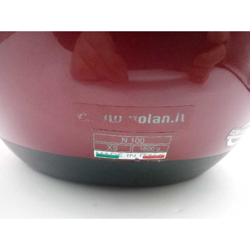 CASCO MOTO NOLAN RED XS 100 | Mercatino dell'Usato Moncalieri bengasi 3