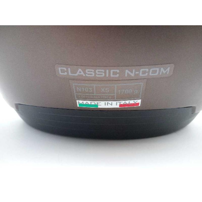 CASCO MOTO NOLAN CLASSIC NCOM 103 | Mercatino dell'Usato Moncalieri bengasi 3