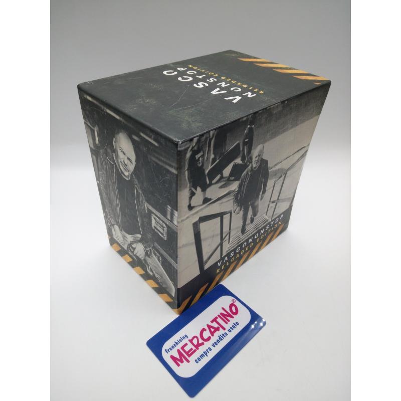 VASCO NONSTOP RELOADED EDITION CD+DVD COFANETTO COMPLETO    Mercatino dell'Usato Moncalieri bengasi 1