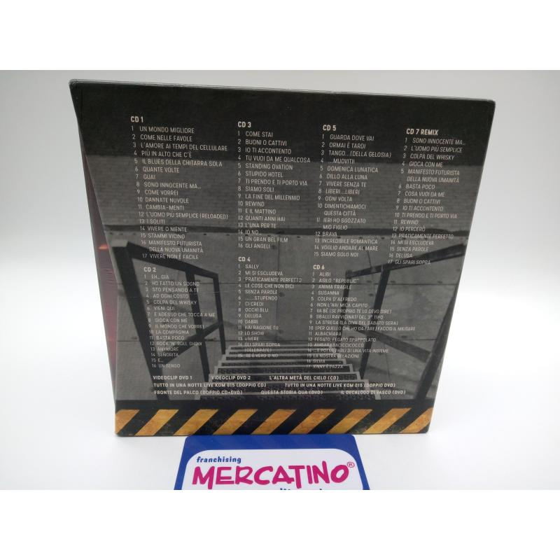 VASCO NONSTOP RELOADED EDITION CD+DVD COFANETTO COMPLETO    Mercatino dell'Usato Moncalieri bengasi 2