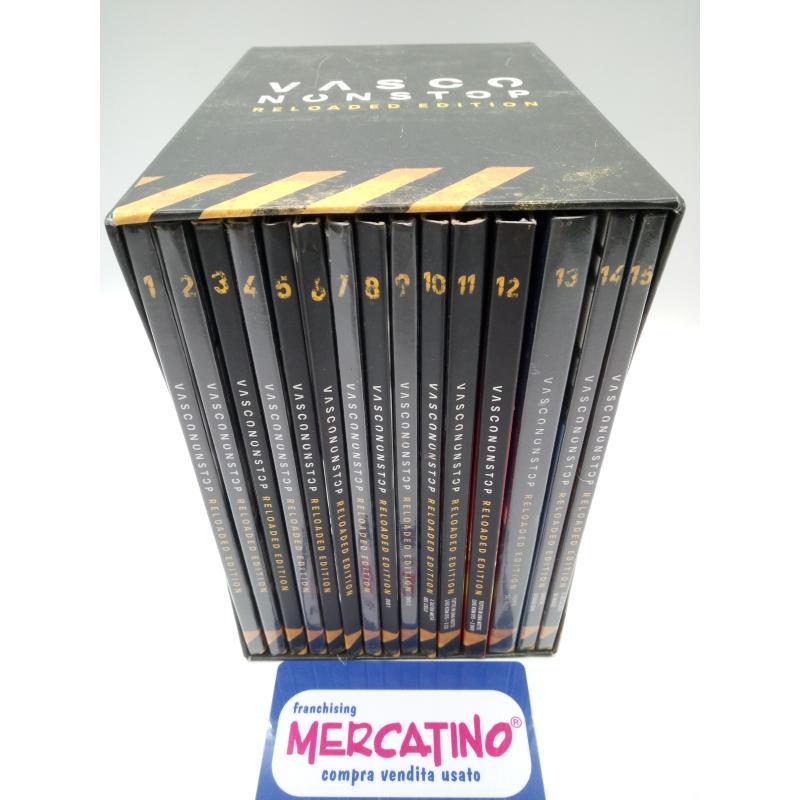 VASCO NONSTOP RELOADED EDITION CD+DVD COFANETTO COMPLETO    Mercatino dell'Usato Moncalieri bengasi 3