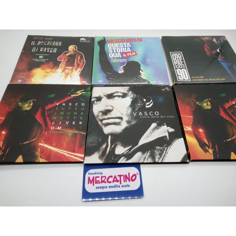 VASCO NONSTOP RELOADED EDITION CD+DVD COFANETTO COMPLETO    Mercatino dell'Usato Moncalieri bengasi 5