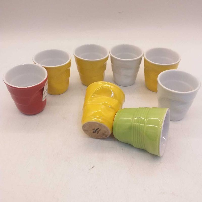 TAZZINE CAFFE' COLORATE PZ.8 BICCHIERE SIMIL | Mercatino dell'Usato Moncalieri bengasi 3