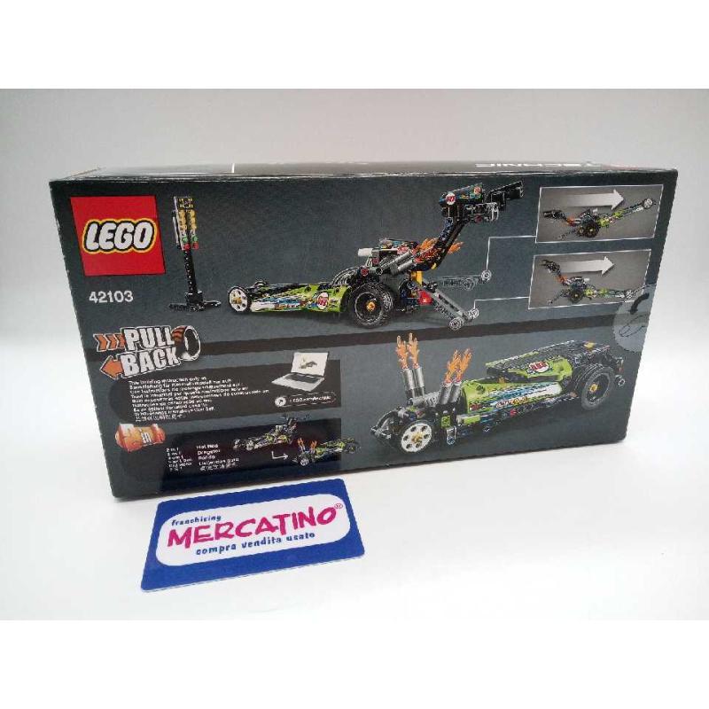 LEGO TECHNIC PULL BACK 42103 SIGILLATO | Mercatino dell'Usato Moncalieri bengasi 2