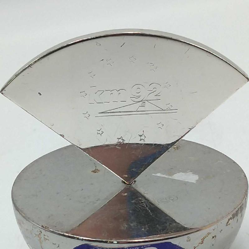 FERMA CARTE METALLO PUBBLICITARIO | Mercatino dell'Usato Moncalieri bengasi 2