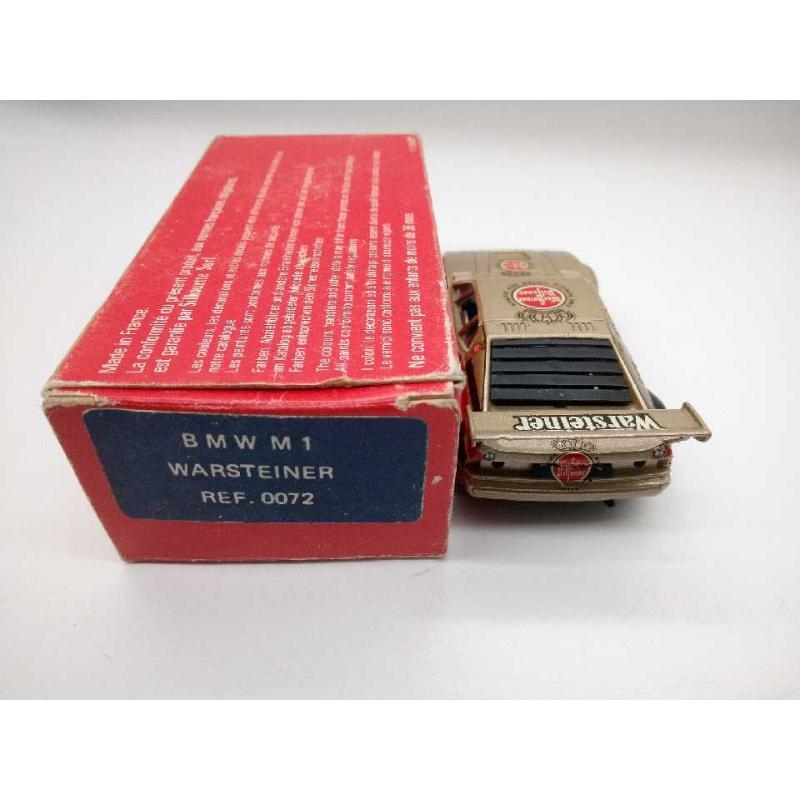 BMW M1 WARSTEINER 1:43 SOLIDO CON SCATOLA   Mercatino dell'Usato Moncalieri bengasi 2