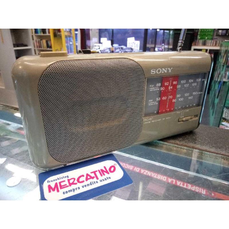 RADIO SONY ICF 750W FUNZIONANTE | Mercatino dell'Usato Moncalieri bengasi 2