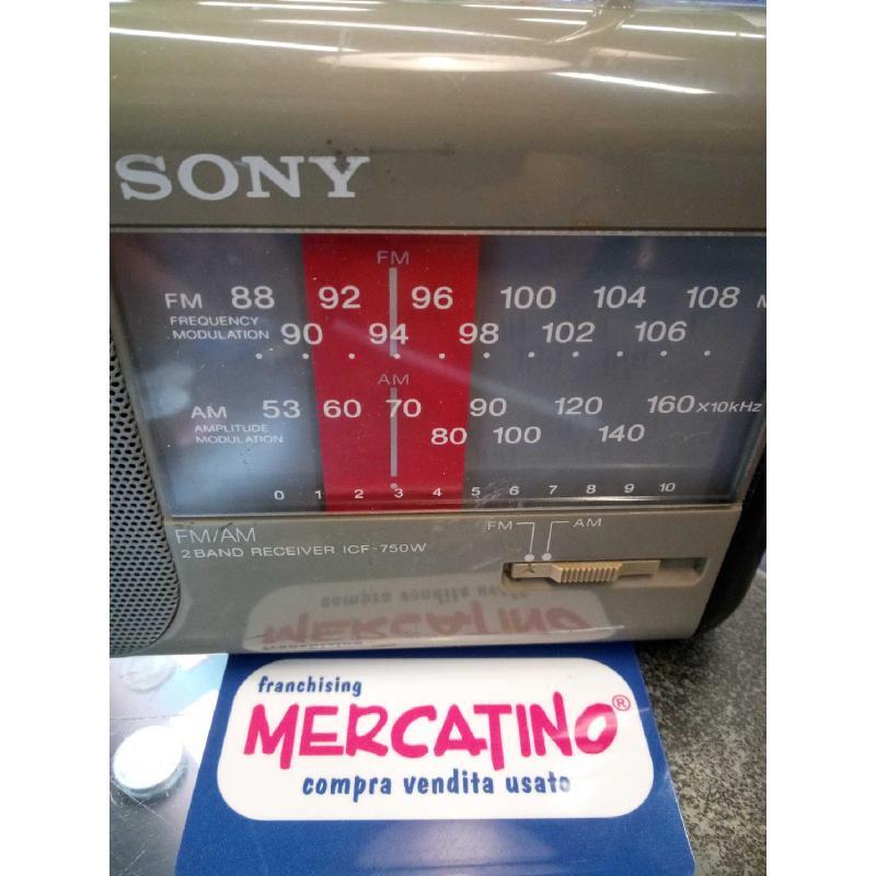 RADIO SONY ICF 750W FUNZIONANTE | Mercatino dell'Usato Moncalieri bengasi 3