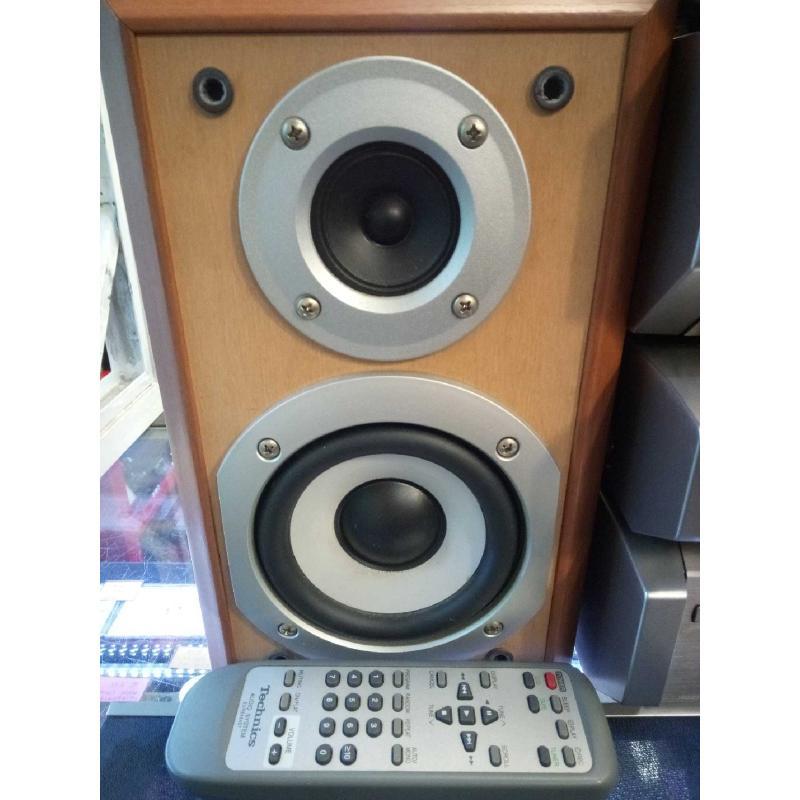 SISTEMA HIFI CD CASSETTE TECHNICS SEHD55 FUNZIONANTE   Mercatino dell'Usato Moncalieri bengasi 3