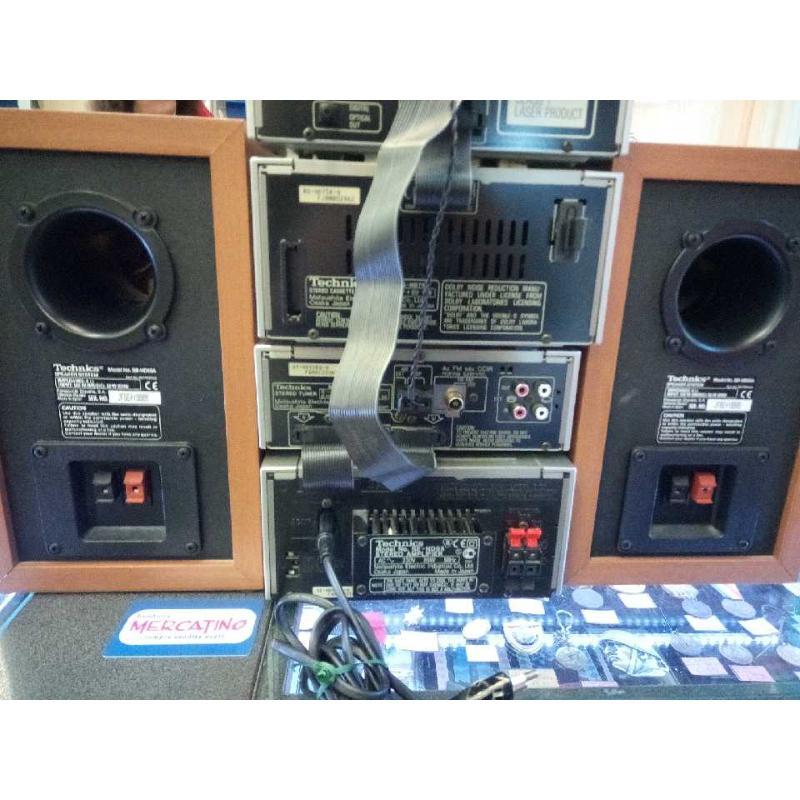 SISTEMA HIFI CD CASSETTE TECHNICS SEHD55 FUNZIONANTE   Mercatino dell'Usato Moncalieri bengasi 4