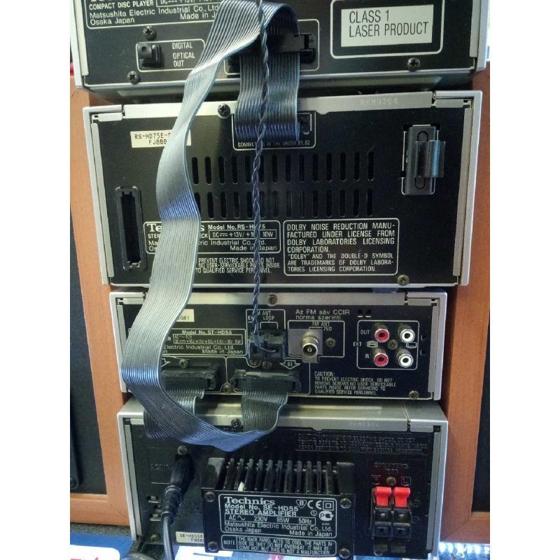 SISTEMA HIFI CD CASSETTE TECHNICS SEHD55 FUNZIONANTE   Mercatino dell'Usato Moncalieri bengasi 5