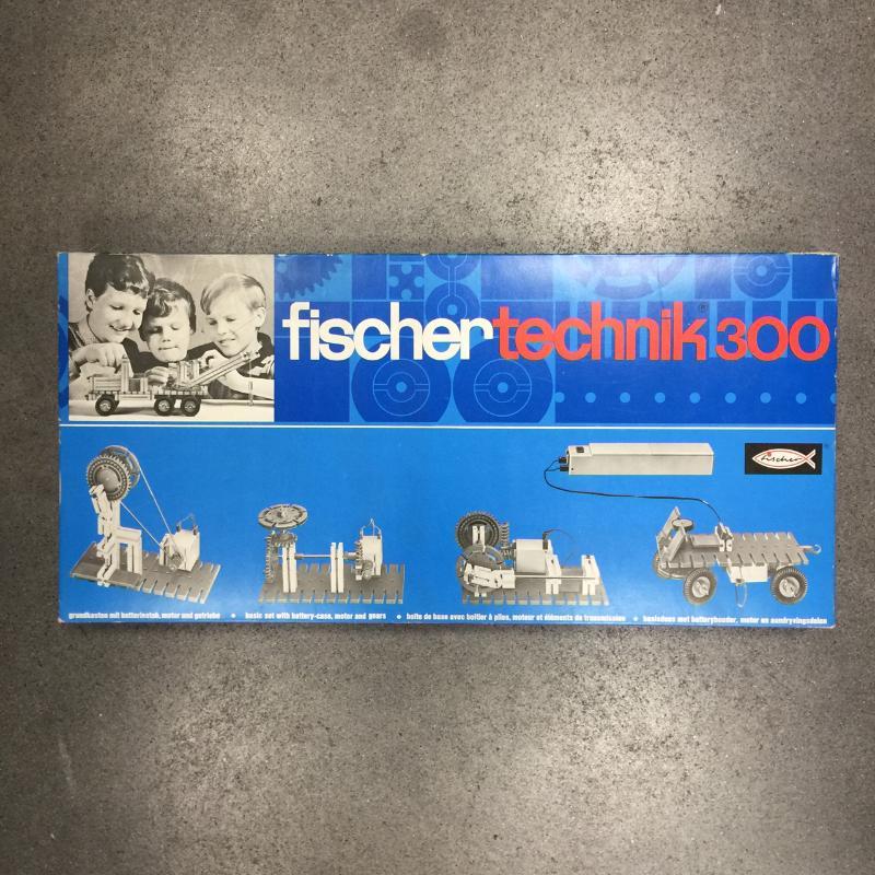 GIOCATTOLO FISCHER TECHNIK 300 | Mercatino dell'Usato Torino via gorizia 1