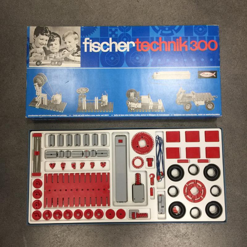 GIOCATTOLO FISCHER TECHNIK 300 | Mercatino dell'Usato Torino via gorizia 3
