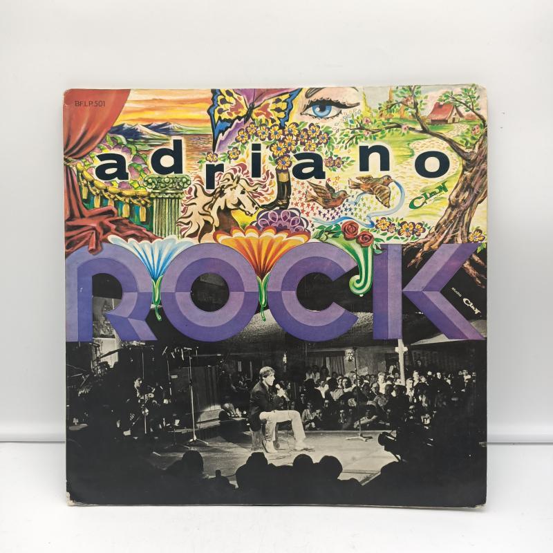 LP ADRIANO CELENTANO - ADRIANO ROCK   Mercatino dell'Usato Torino via gorizia 1