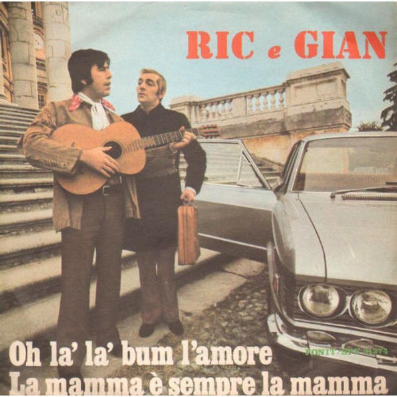 RIC E GIAN - OH LA' LA' BUM L'AMORE / LA MAMMA E'  | Mercatino dell'Usato Torino via gorizia 1