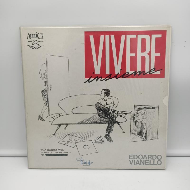 LP EDOARDO VIANELLO - VIVERE INSIEME   Mercatino dell'Usato Torino via gorizia 1