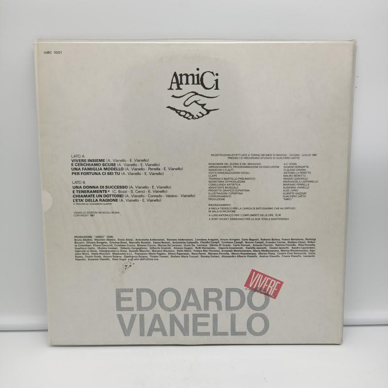 LP EDOARDO VIANELLO - VIVERE INSIEME   Mercatino dell'Usato Torino via gorizia 2