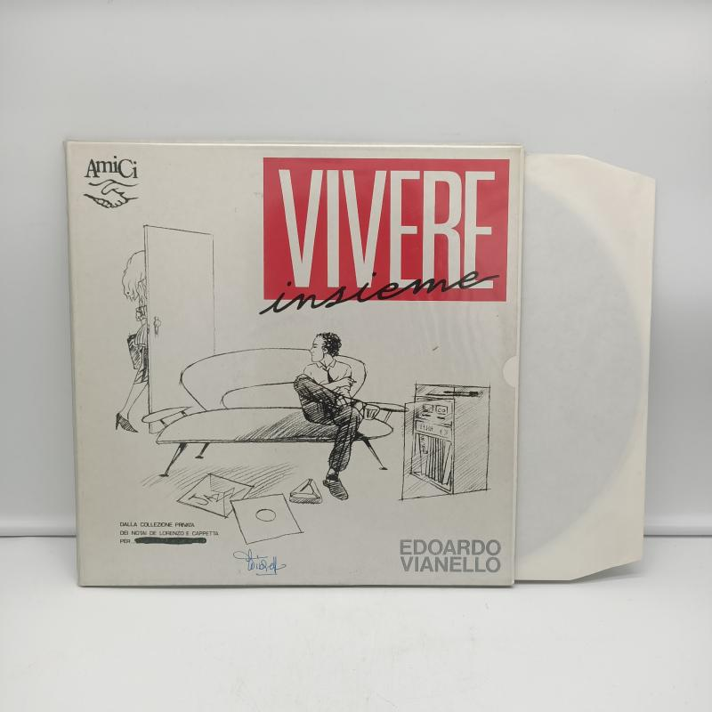 LP EDOARDO VIANELLO - VIVERE INSIEME   Mercatino dell'Usato Torino via gorizia 3