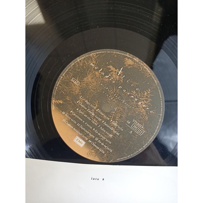 LP ALICE (4) - MÉLODIE PASSAGÈRE (ALICE CANTA SATIE, FAURÉ, RAVEL)   Mercatino dell'Usato Torino via gorizia 3