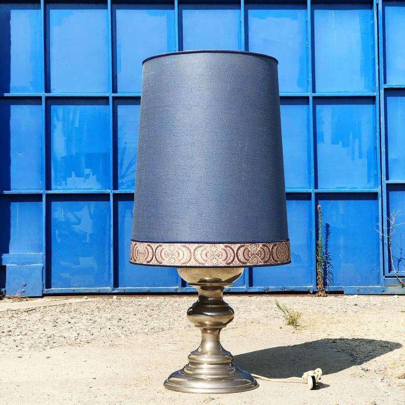 LAMPADA CROMATA CAPPELLO BLU NAVY | Mercatino dell'Usato Nichelino bardonecchia 1