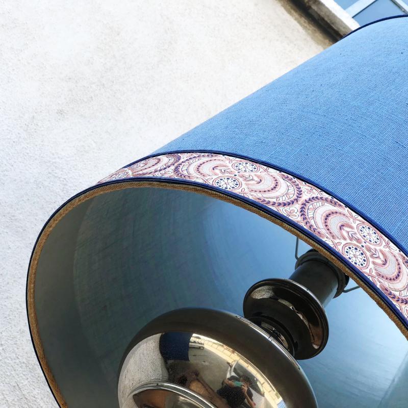 LAMPADA CROMATA CAPPELLO BLU NAVY | Mercatino dell'Usato Nichelino bardonecchia 2