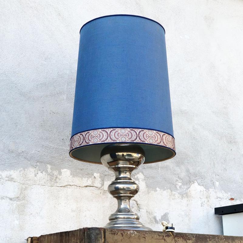 LAMPADA CROMATA CAPPELLO BLU NAVY | Mercatino dell'Usato Nichelino bardonecchia 3