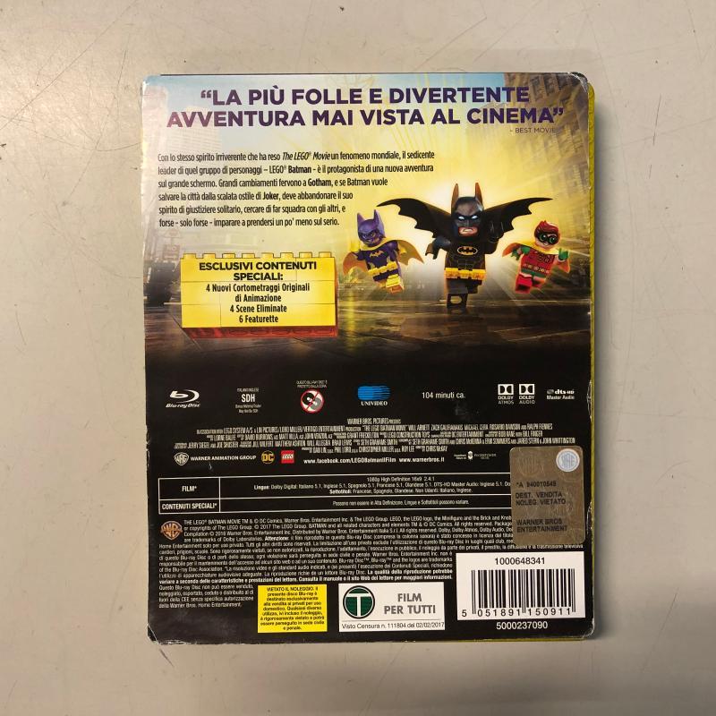 BLU RAY THE LEGO BATMAN MOVIE | Mercatino dell'Usato Carmagnola 2