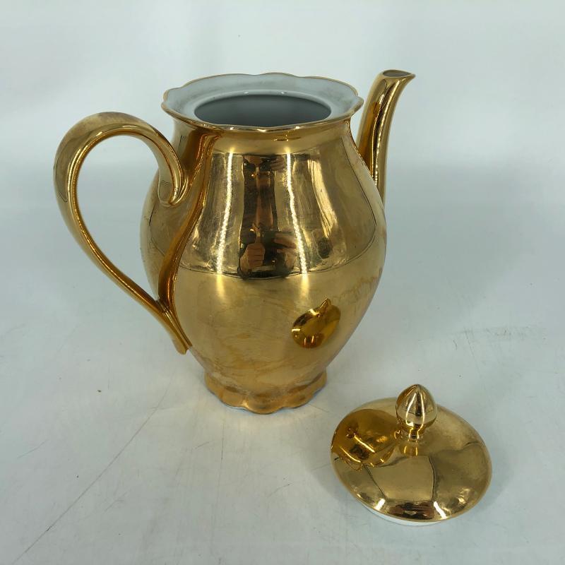 CAFFETTIERA SELTMANN WEIDEN BAVARIA DORATA | Mercatino dell'Usato Carmagnola 2