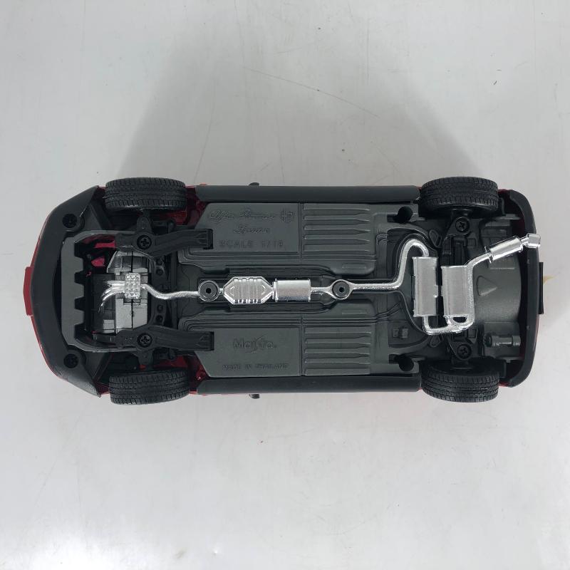 MODELLINO AUTO ALFA ROMEO SPIDER 1/18 ROSSA   Mercatino dell'Usato Carmagnola 2