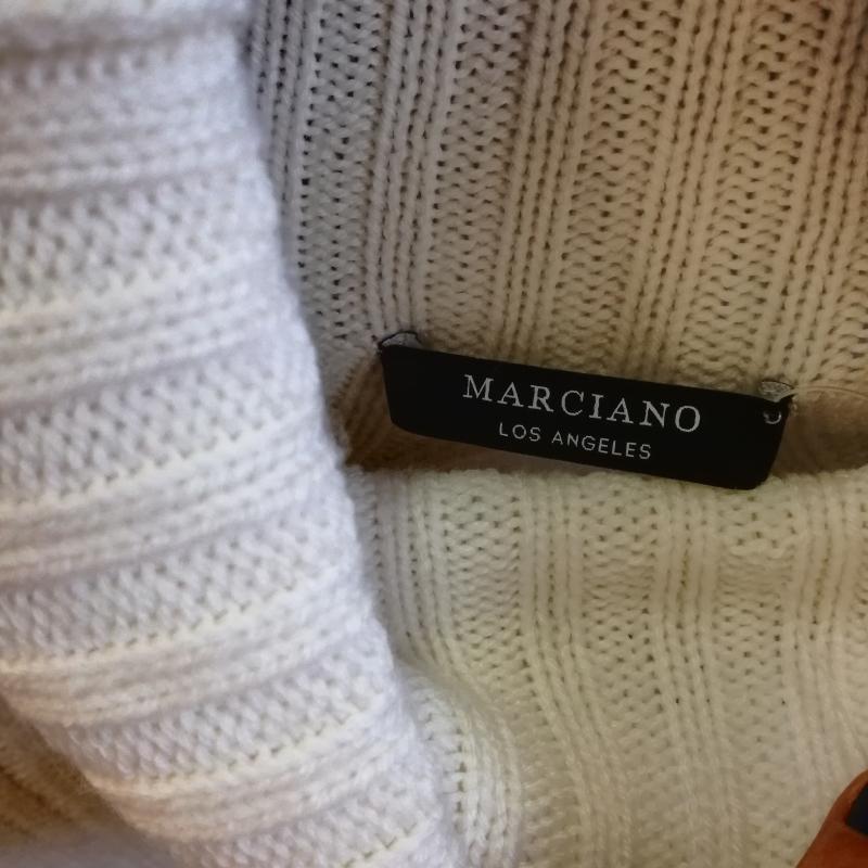 VESTITO DONNA GUESS MARCIANO MAGLINA BIANCO COLLO ALTO | Mercatino dell'Usato Carmagnola 5
