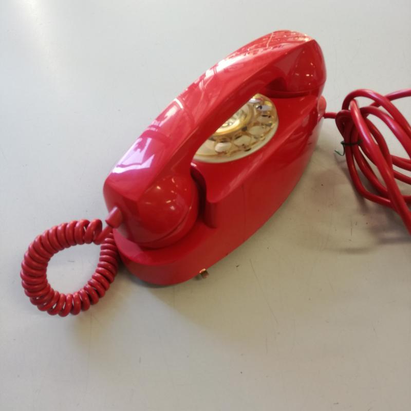 TELEFONO A DISCO S.I.P. FACE STANDARD ROSSO | Mercatino dell'Usato Carmagnola 4