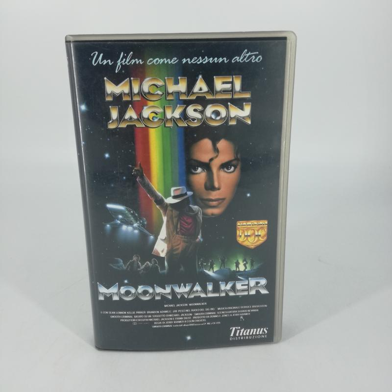 VHS MOONWALKER MICHAEL JACKSON | Mercatino dell'Usato Carmagnola 1