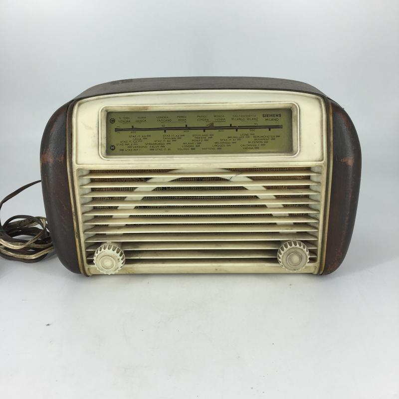 RADIO A VALVOLE SIEMENS SM 523 | Mercatino dell'Usato Carmagnola 1