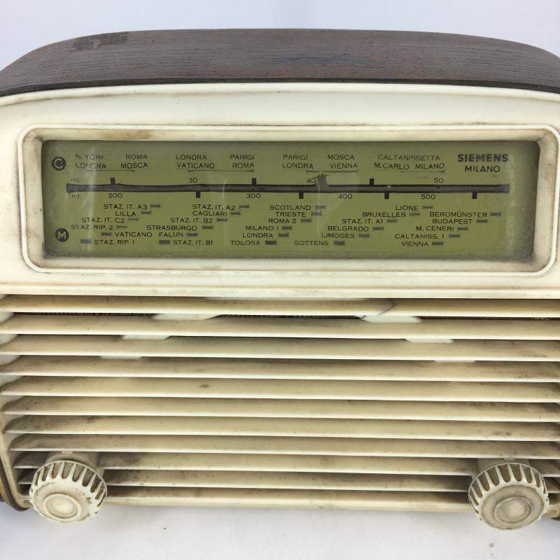 RADIO A VALVOLE SIEMENS SM 523 | Mercatino dell'Usato Carmagnola 2