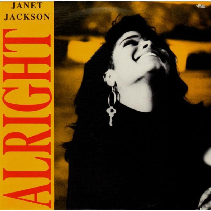 JANET JACKSON - ALRIGHT | Mercatino dell'Usato Carmagnola 1