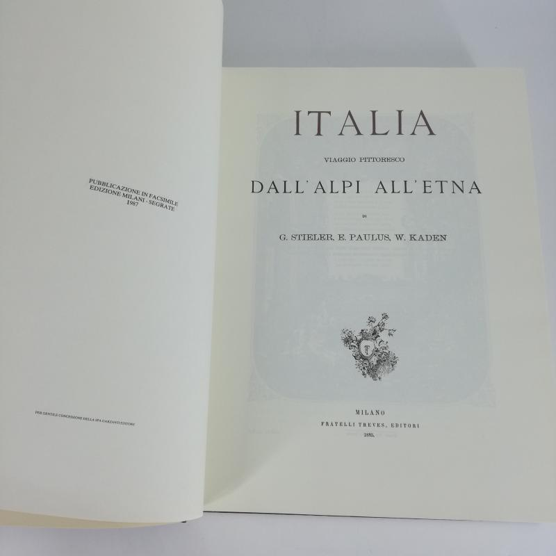 ITALIA VIAGGIO PITTORESCO DALL'ALPI ALL'ETNA RIPRO 1987 | Mercatino dell'Usato Carmagnola 4