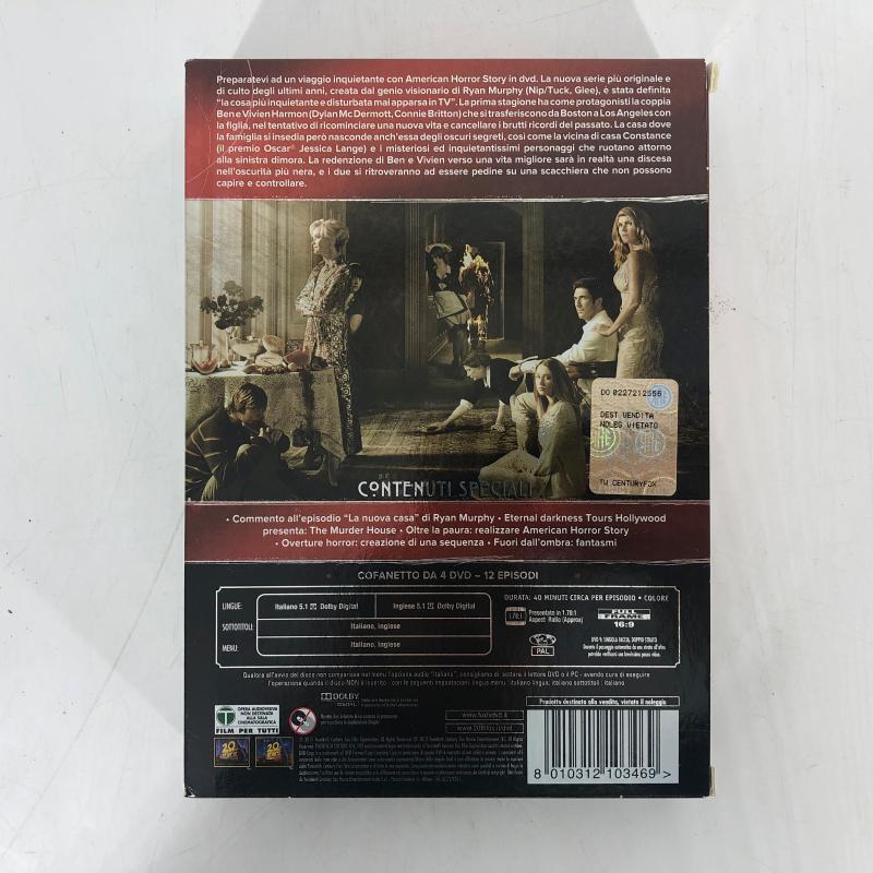 DVD AMERICAN HORROR STORY STAGIONE 1   Mercatino dell'Usato Carmagnola 3