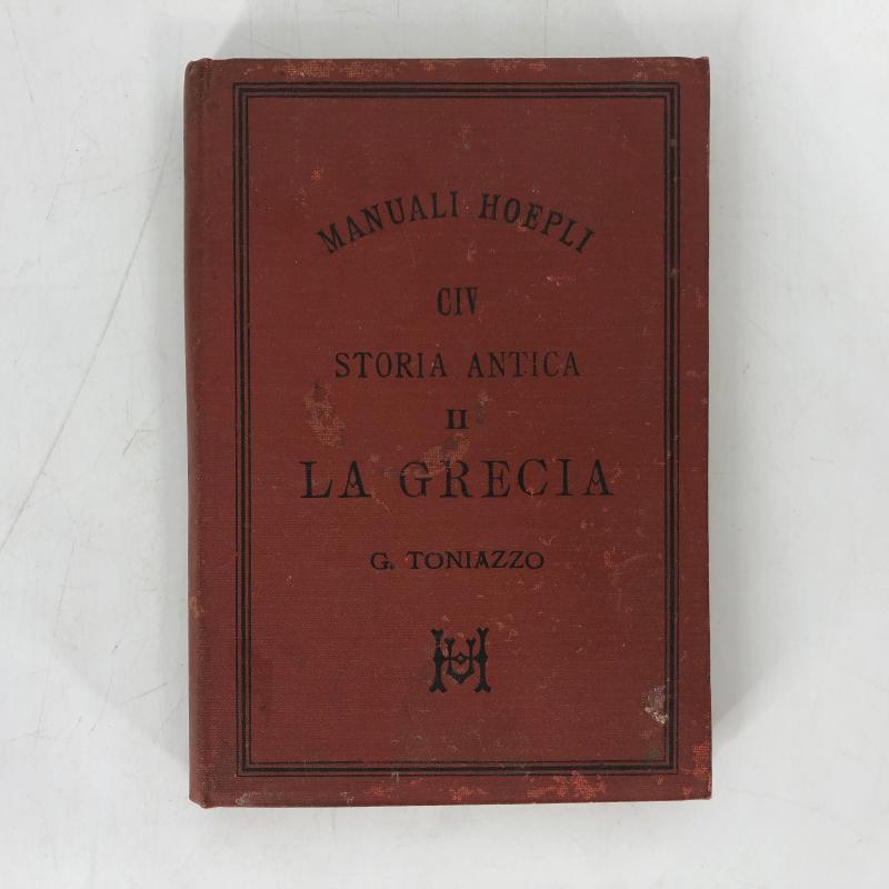 MANUALE HOEPLI STORIA ANTICA LA GRECIA | Mercatino dell'Usato Carmagnola 1