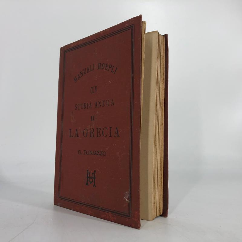 MANUALE HOEPLI STORIA ANTICA LA GRECIA | Mercatino dell'Usato Carmagnola 2