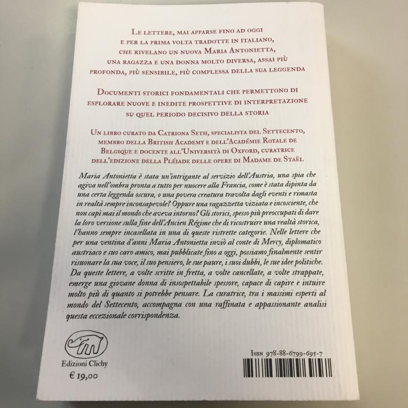 LETTERE INEDITE MARIA ANTONIETTA | Mercatino dell'Usato Carmagnola 2