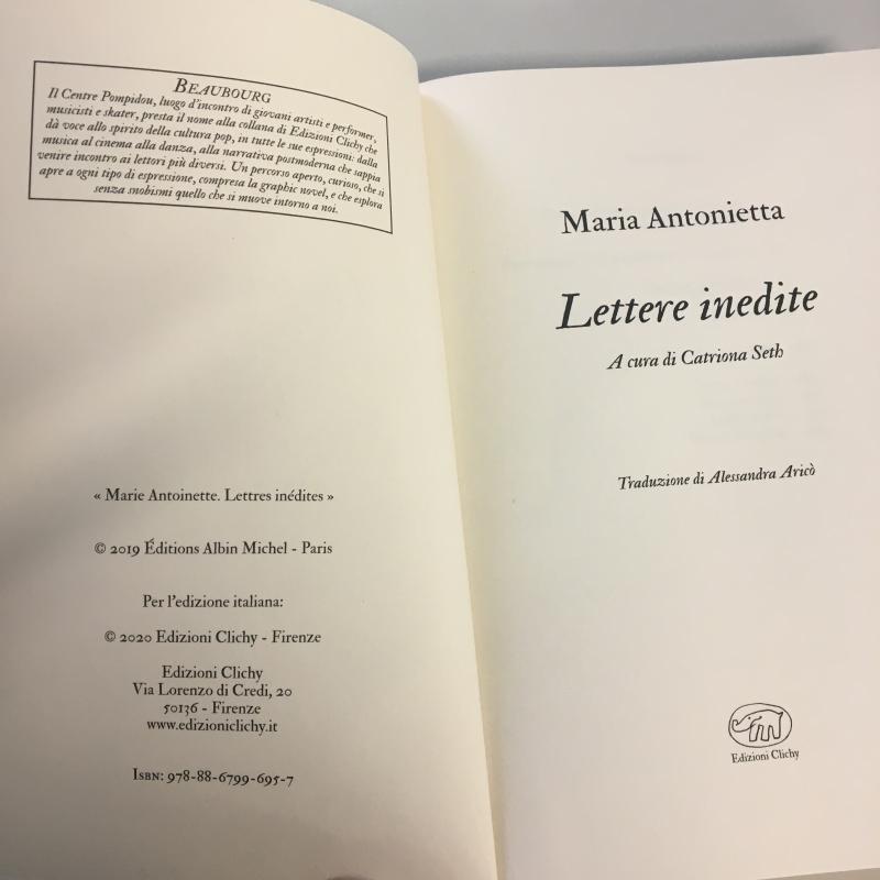 LETTERE INEDITE MARIA ANTONIETTA | Mercatino dell'Usato Carmagnola 3