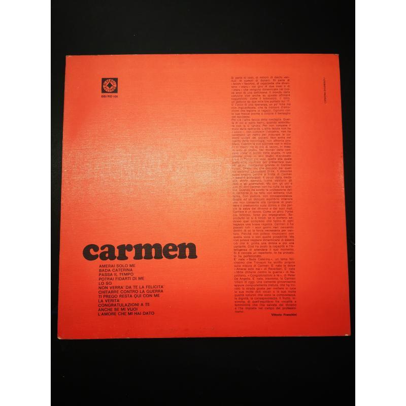 CARMEN VILLANI PRIMO DISCO BBRD101 | Mercatino dell'Usato Torino via lanzo 2