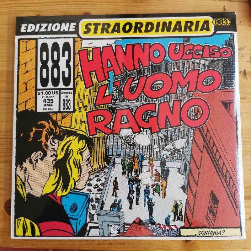 HANNO UCCISO L'UOMO RAGNO ED.STRAORDINARIA 883 | Mercatino dell'Usato Torino via lanzo 1