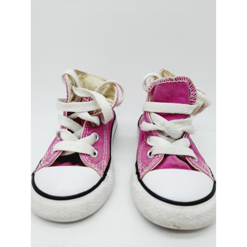 Scarpe bimba converse rosa