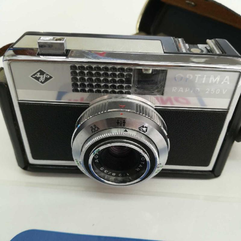 MACCHINA FOTOGRAFICA AGFA RAPID 250 VINTAGE | Mercatino dell'Usato Leini' 5