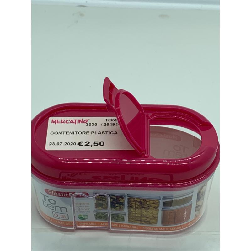 CONTENITORE PLASTICA    Mercatino dell'Usato Leini' 2
