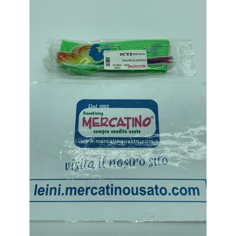 POSATE PLASTICA | Mercatino dell'Usato Leini' 1