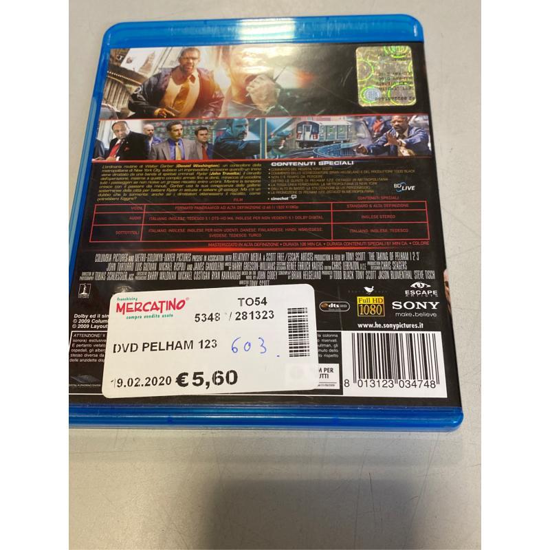 DVD PELHAM 123 | Mercatino dell'Usato Osasco 2